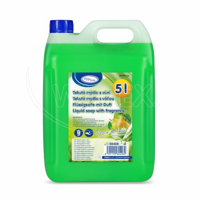 """Tekuté mýdlo do dávkovače """"Jablko & Hruška"""" 5 litrů [1 ks]"""