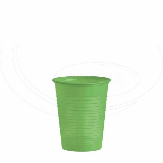 Kelímek žlutozelený 0,18 l -PS- (Ø 70 mm) [50 ks]