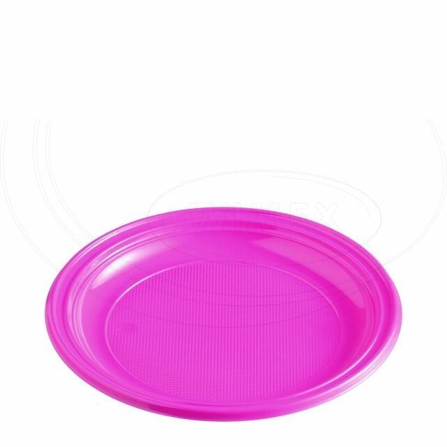 Talíř světle fialový (PS) Ø 22 cm [10 ks]