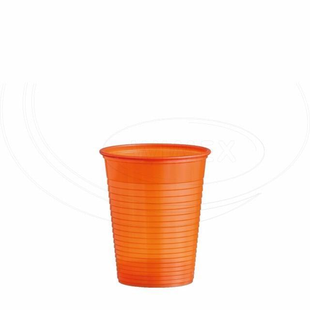 Kelímek oranžový 0,18 l (PS) [10 ks]
