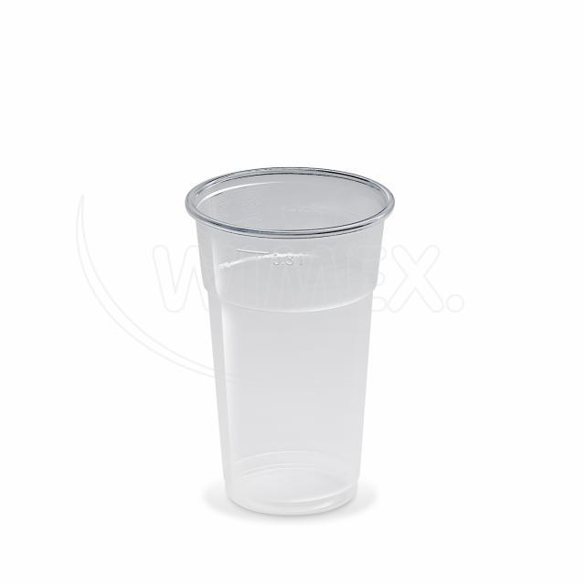 Kelímek průhledný 0,3 l -PP- (Ø 78 mm) [50 ks]