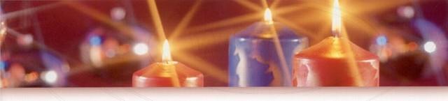 Svíčka válcová Ø 40 x 80 mm červená [4 ks]
