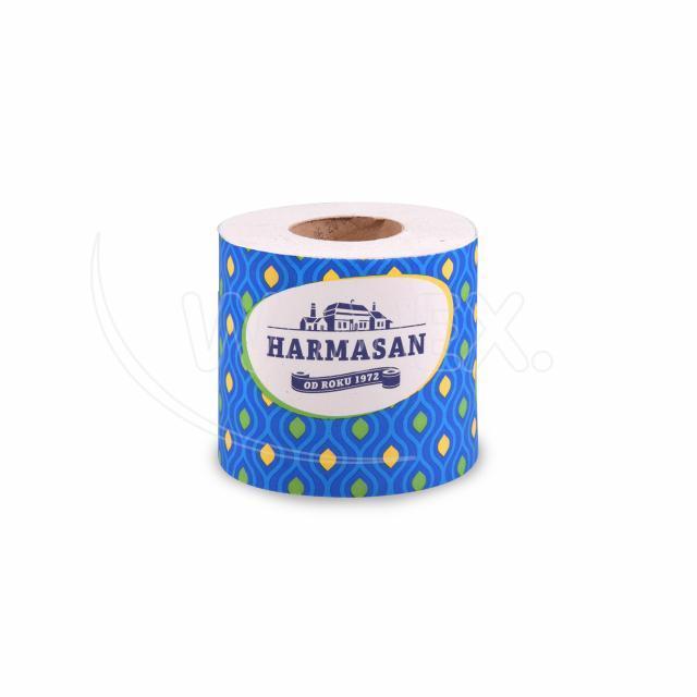 """Toaletní papír natural 1vrstvý """"Harmasan"""" 400 útržků, 50 m [1 ks]"""
