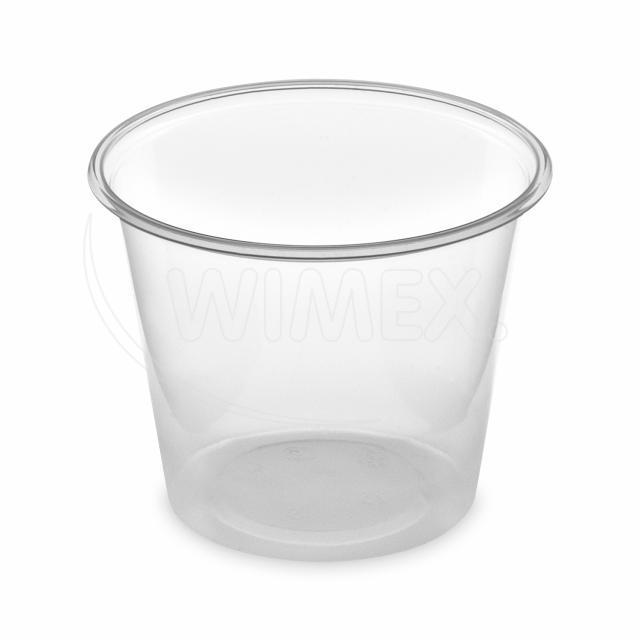 Dresinková miska průhledná 125 ml (PP) [50 ks]