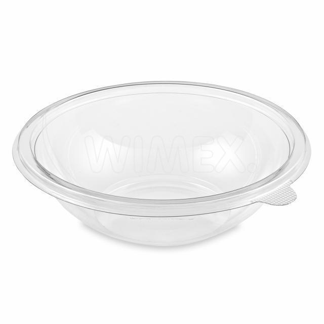 Salátová miska PREMIUM průhledná 750 ml (PET) [50 ks]