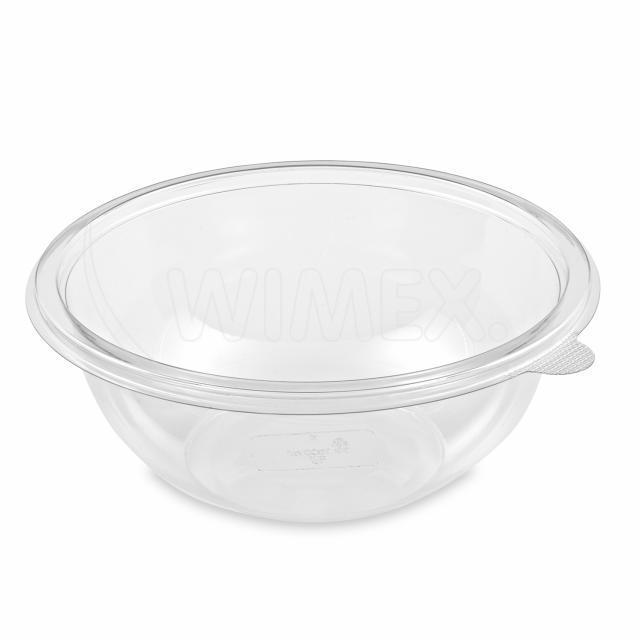 Salátová miska PREMIUM průhledná 1000 ml (PET) [50 ks]