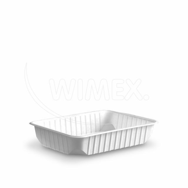 Vanička hranatá bílá 500 ml (PP) [50 ks]