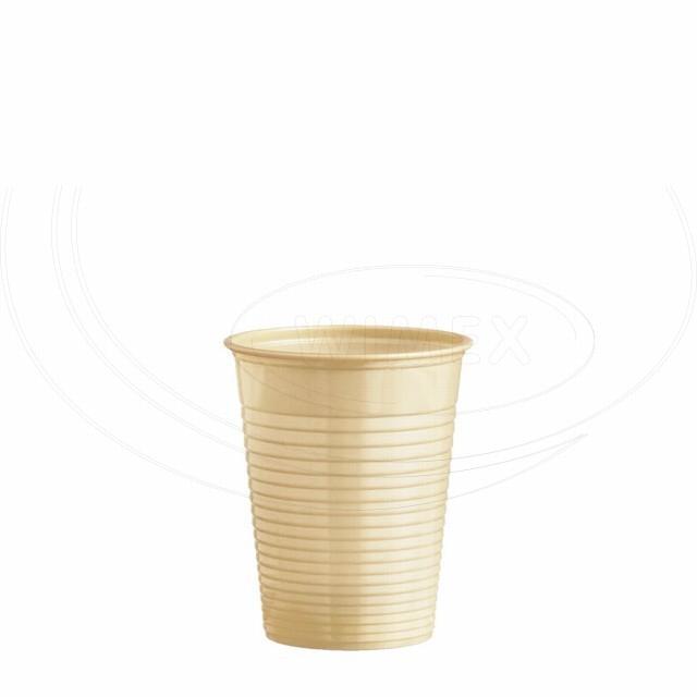 Kelímek béžový 0,18 l -PS- (Ø 70 mm) [50 ks]
