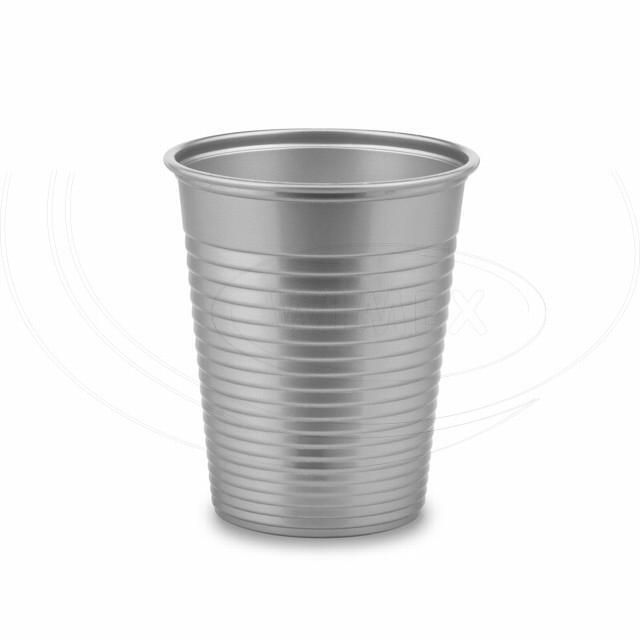 Kelímek stříbrný 0,18 l -PS- (Ø 70 mm) [50 ks]