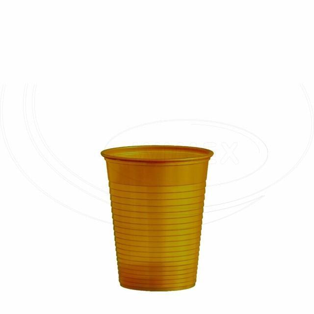 Kelímek zlatý 0,18 l -PS- (Ø 70 mm) [50 ks]