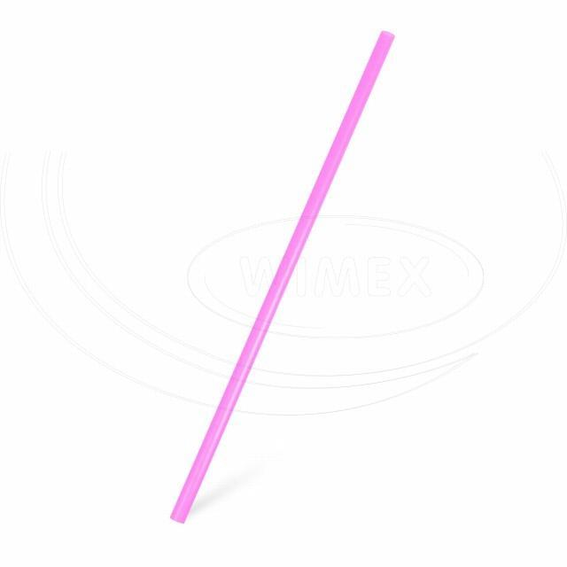 Slámka JUMBO fuchsia 25 cm, Ø 8 mm [150 ks]