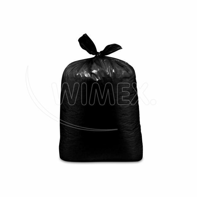Pytel na odpadky černý 70x110cm, 120 l, Typ 100 [15 ks]