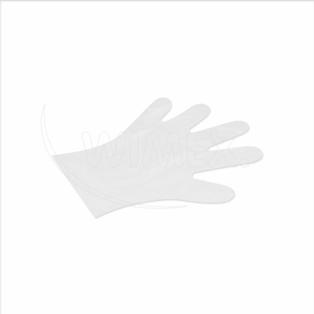 Rukavice jednorázová LDPE pro ženy (velikost M) [100 ks]