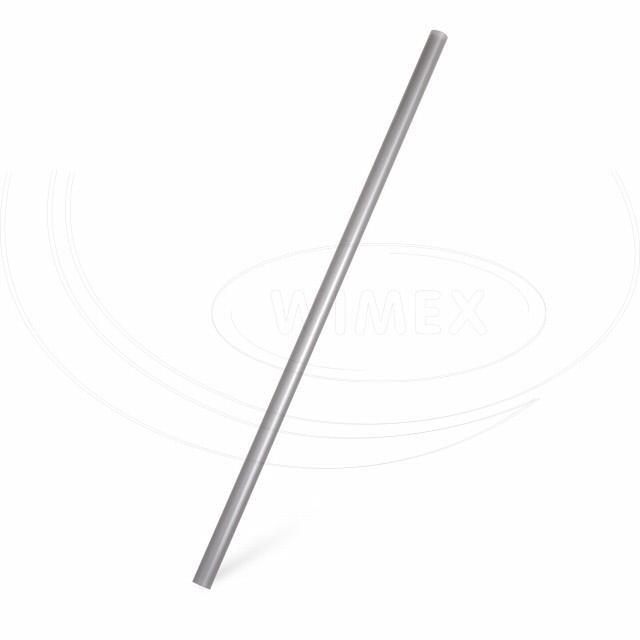Slámka JUMBO stříbrná 25 cm, Ø 8 mm [150 ks]