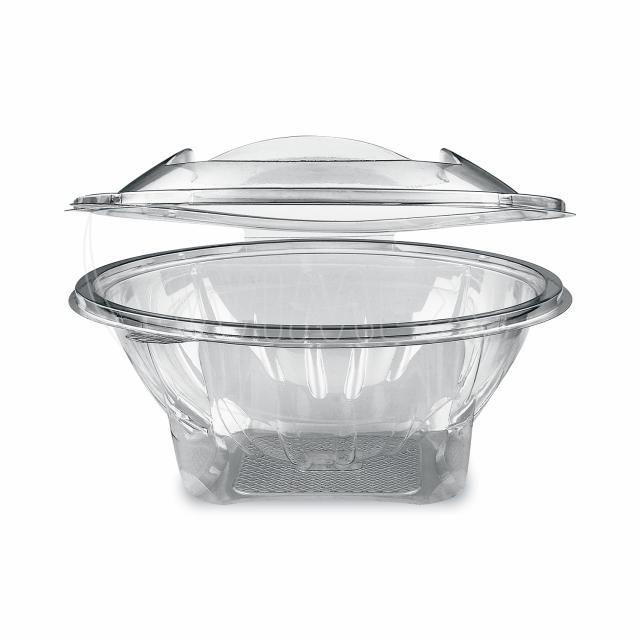 Miska kulatá průhledná s víčkem 1000 ml (PET) [50 ks]