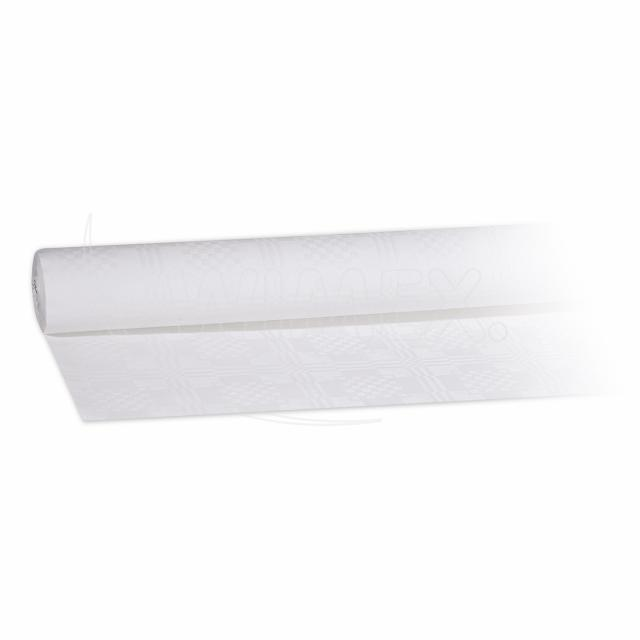 Pap. ubrus rolovaný 10 x 1,20 m bílý [1 ks]