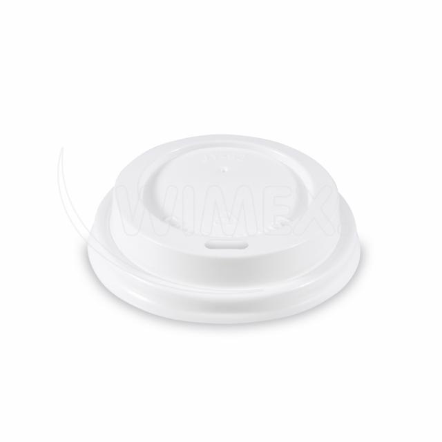 Víčko vypouklé bílé pro papírové kelímky Ø 62 mm [50 ks]