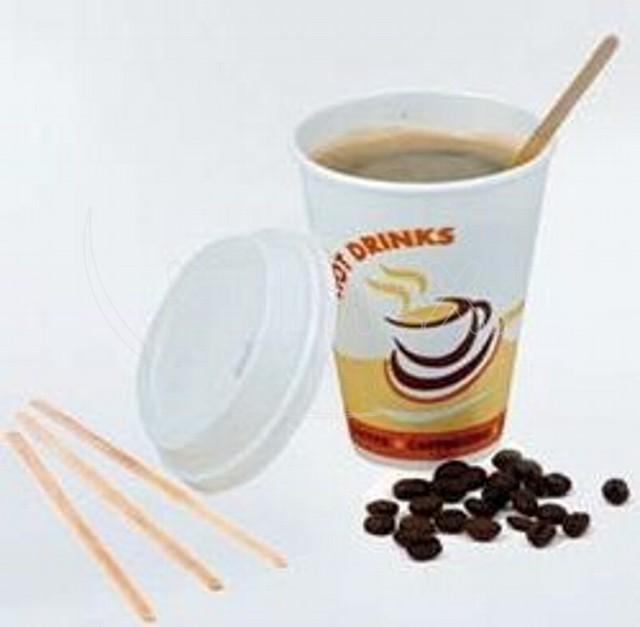 Míchačka na kávu ze dřeva 17,8 cm [1000 ks]