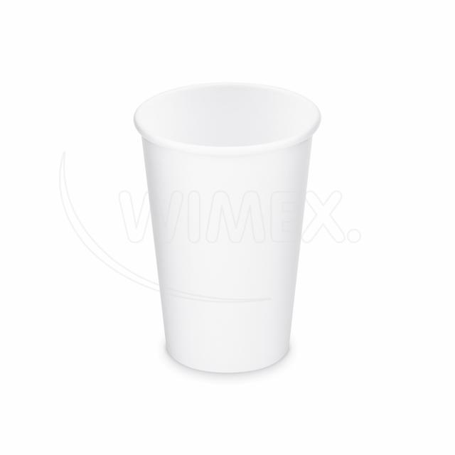 Papírový kelímek bílý 330 ml, L (Ø 80 mm) [50 ks]