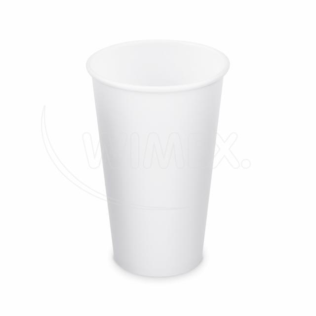 Papírový kelímek bílý 510 ml, XL (Ø 90 mm) [50 ks]