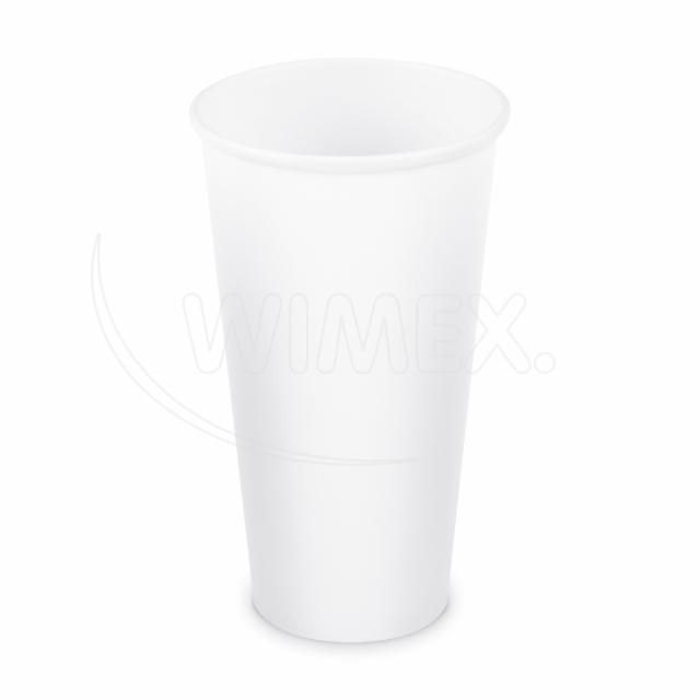 Papírový kelímek bílý 610 ml, XXL (Ø 90 mm) [50 ks]