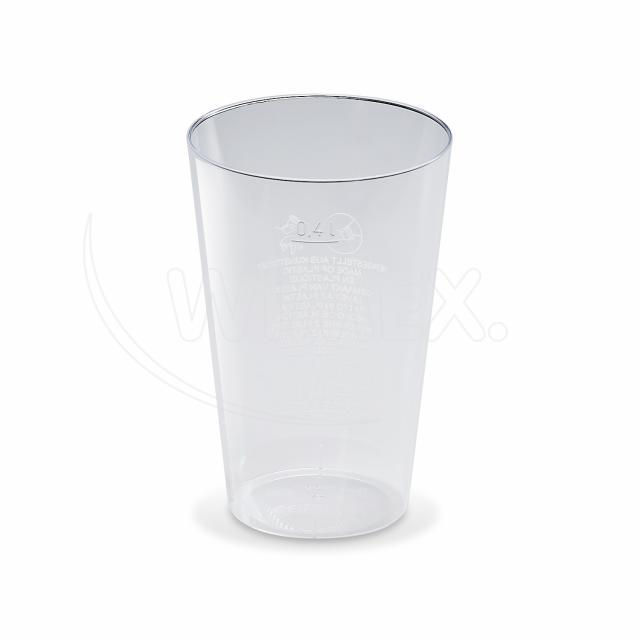 Kelímek krystal 0,4 l [50 ks]