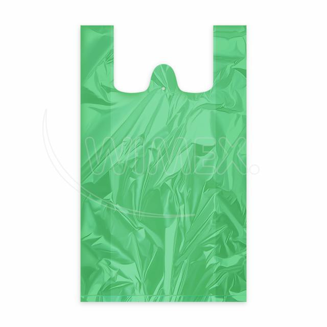 Taška 10kg zelená 30+14 x 50 cm [100 ks]