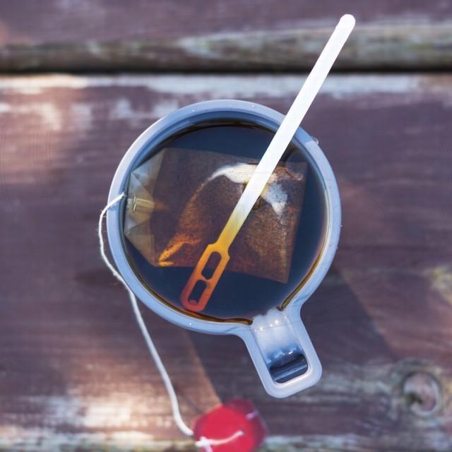 Míchačka na kávu bílá 13 cm [1000 ks]
