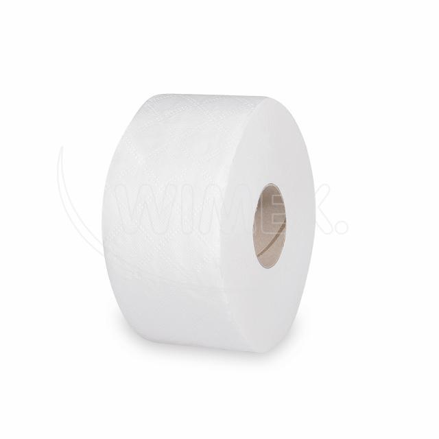 Toaletní papír tissue JUMBO 2vrstvý Ø 18 cm, 100 m [12 ks]