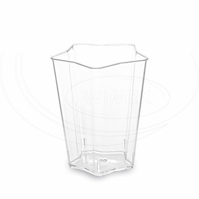Fingerfood kelímek HVĚZDA, čirý 5 x 5 x 6,1 cm - 60 ml [50 ks]