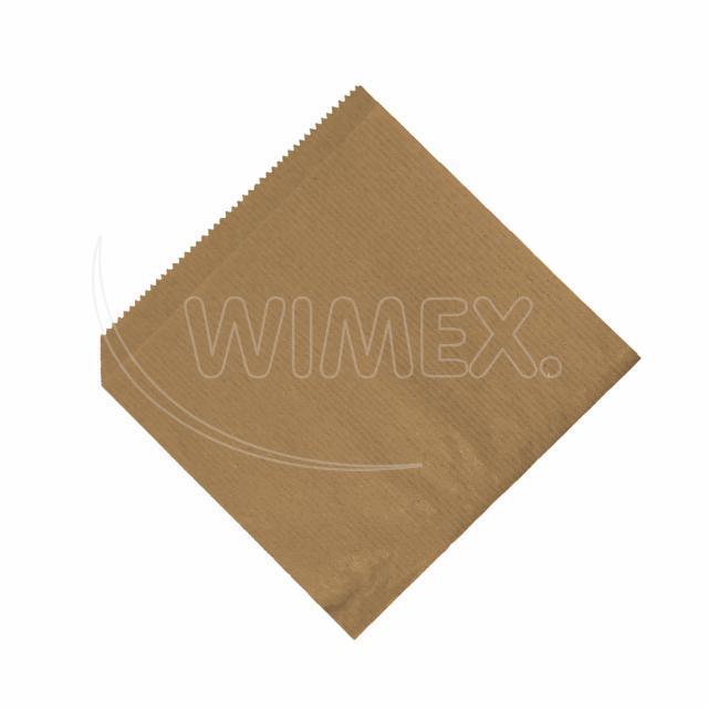 Papírový sáček (HAMBURGER/KEBAP) hnědý 16x16cm [500 ks]