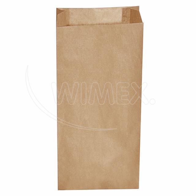 Svačinový pap. sáček hnědý 5kg (20+7 x 43 cm) [500 ks]