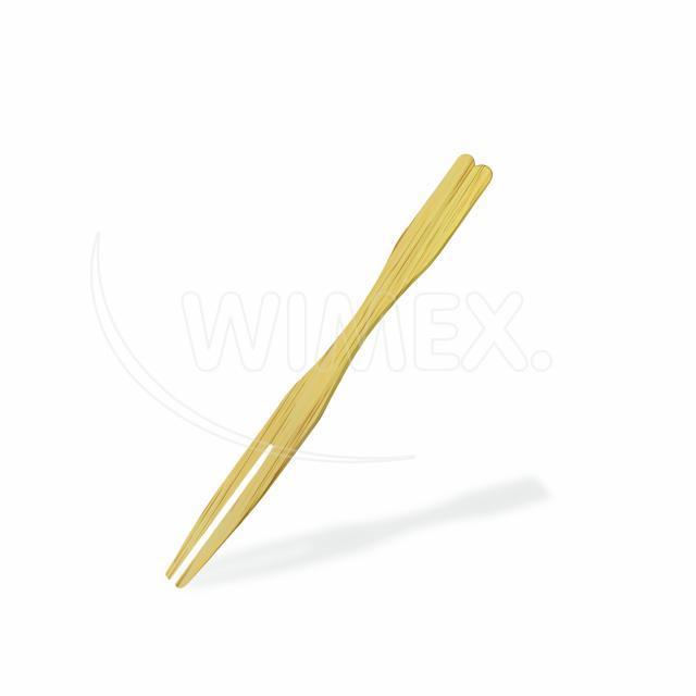 Bambusový bodec VIDLIČKA 9 cm [100 ks]