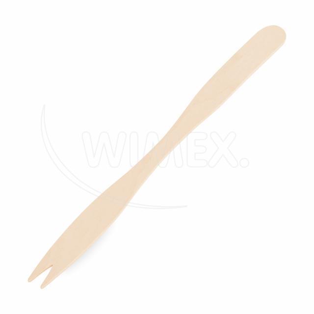 Vidlička svačinová dlouhá ze dřeva 14 cm [500 ks]