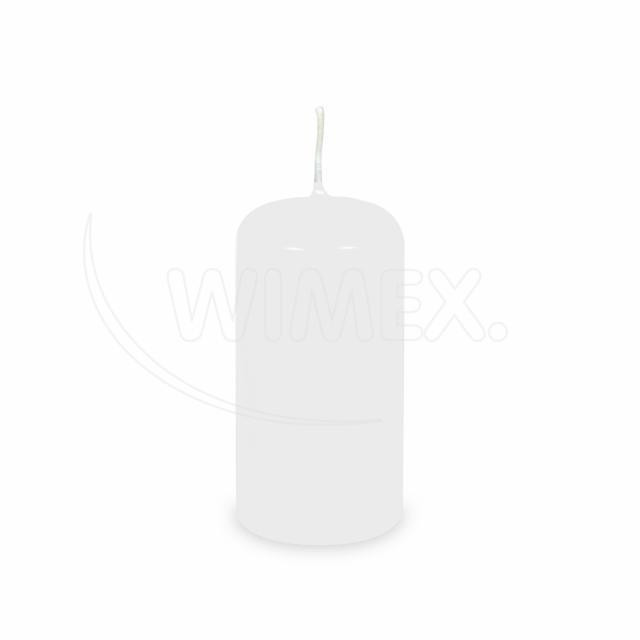 Svíčka válcová Ø 50 x 100 mm bílá [4 ks]