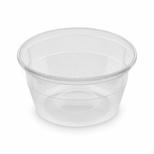 Polévková miska průhledná (PP) 500 ml, Ø 127 mm [50 ks]