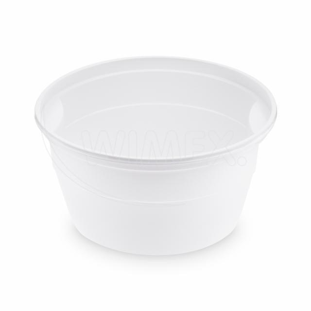 Polévková miska bílá (PP) 500 ml, Ø 127 mm [50 ks]