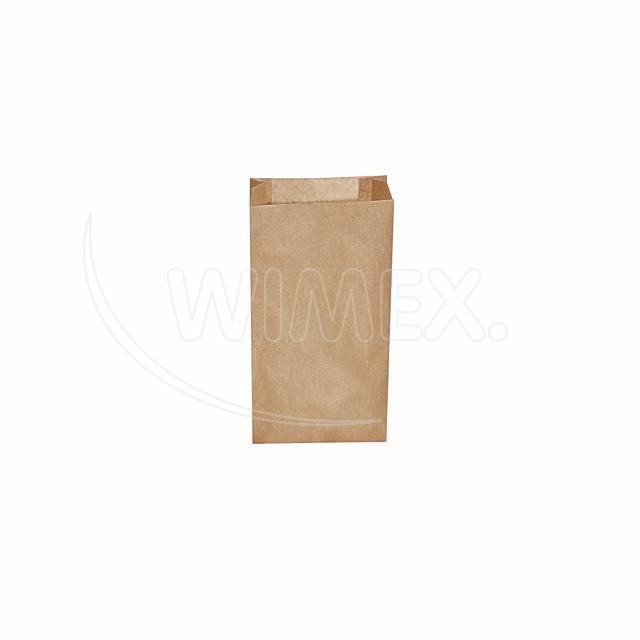 Svačinový pap. sáček hnědý 0,5kg (10+5 x 22 cm) [500 ks]