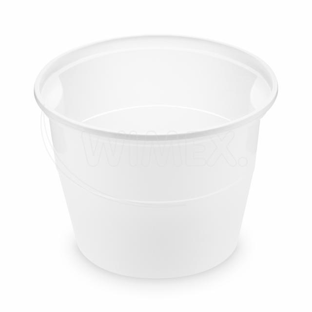 Polévková miska bílá (PP) 750 ml, Ø 127 mm [50 ks]