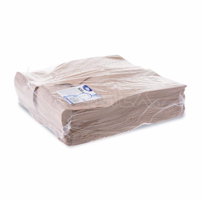 Svačinový pap. sáček hnědý 2,5kg (15+7 x 35 cm) [500 ks]