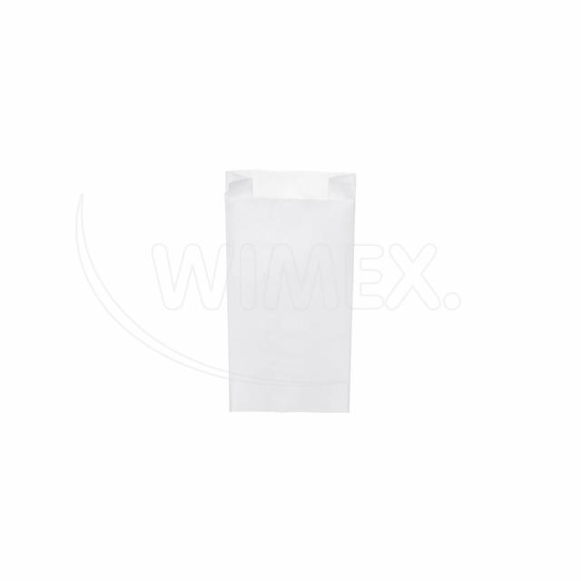 Svačinový pap. sáček bílý 0,5kg (10+5 x 22 cm) [1000 ks]