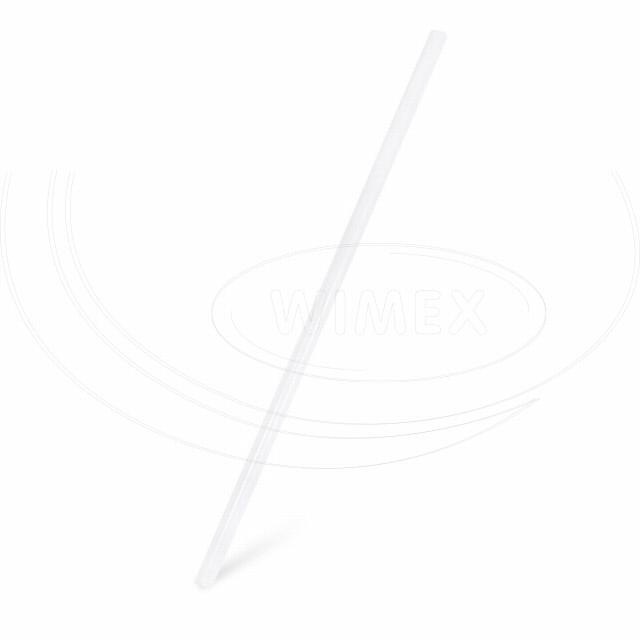 Slámka JUMBO bílá (PLA) -BIO- 25 cm, Ø 8 mm [150 ks]