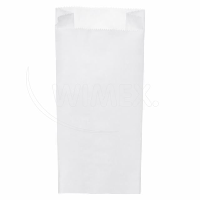 Svačinový pap. sáček bílý 5kg (20+7 x 45 cm) [1000 ks]
