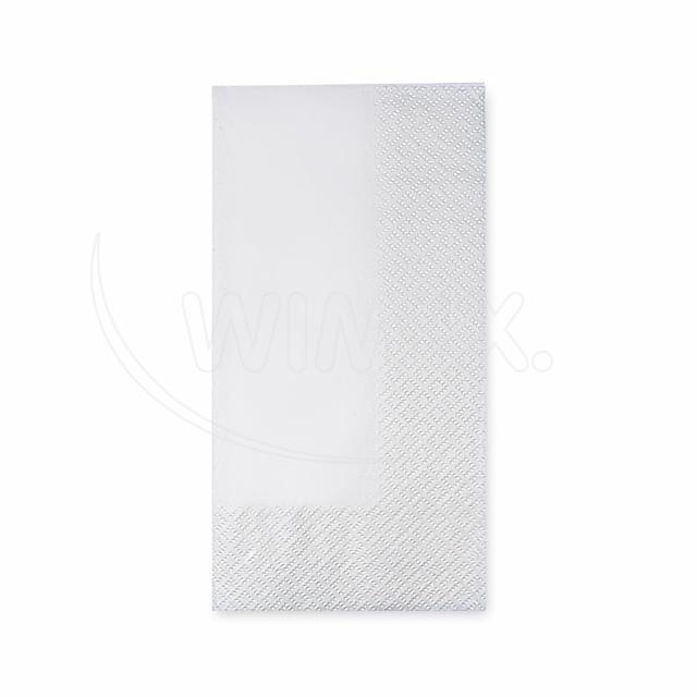 Ubrousek 2vrstvý, 40 x 40 cm bílý 1/8 skládání [250 ks]