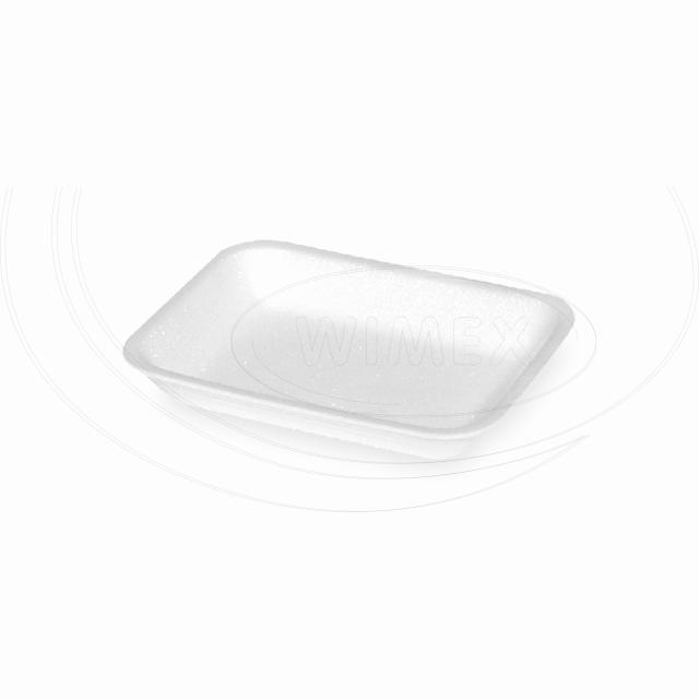 Podložní miska bílá 70, 175 x 135 x 24 mm (EPS) [2250 ks]