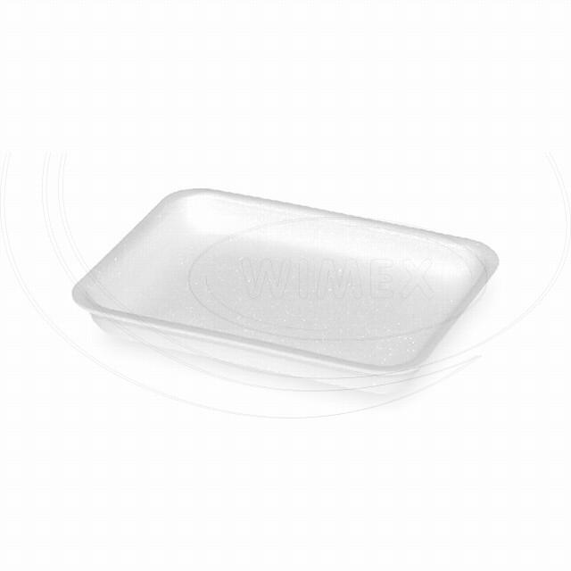 Podložní miska bílá S3, 225 x 175 x 41 mm (EPS) [1000 ks]