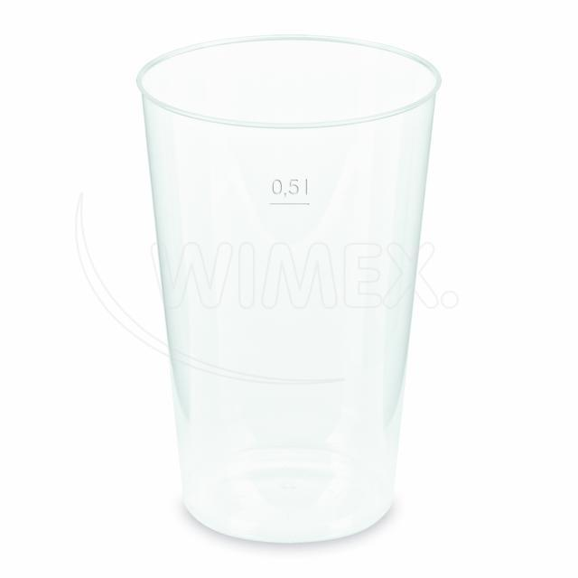 Kelímek vratný 0,5 l (PP) [30 ks]