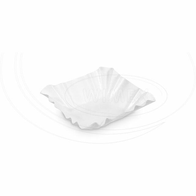 Papírová miska hranatá 9 x 9 x 3 cm [250 ks]