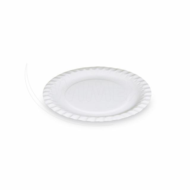 Papírový talíř mělký Ø 18 cm [100 ks]