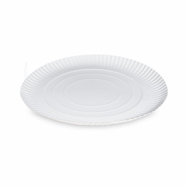 Fotografie Papírový talíř hluboký Ø 29 cm [50 ks]